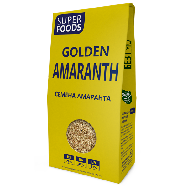 Семена амаранта 150 г (Golden Amaranth Seeds)